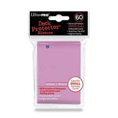 Ultra Pro Small Size Pink Sleeves - 60ct