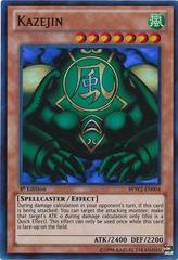 Kazejin - BPW2-EN004 - Super Rare - 1st Edition