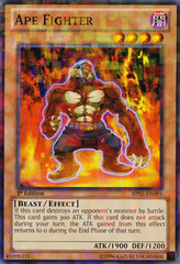 Ape Fighter - BP02-EN093 - Mosaic Rare - Unlimited on Channel Fireball