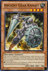 Ancient Gear Knight - BP02-EN056 - Common - Unlimited on Channel Fireball