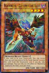 Blackwing - Zephyros the Elite - BP02-EN098 - Mosaic Rare - Unlimited