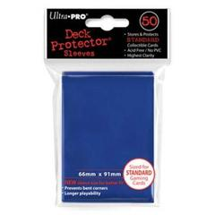 50ct Blue Standard Size Sleeves - Ultra Pro