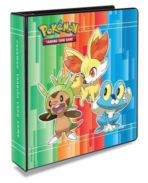 Pokemon 2 3-Ring Binder Album Chespin/Fennekin/Froakie XY