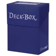 Blue Deck Box