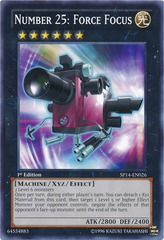 Number 25: Force Focus - SP14-EN026 - Common - 1st Edition