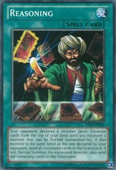 Reasoning - SP14-EN041 - Starfoil Rare - 1st Edition