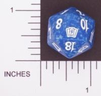 Magic Spindown Die - 9th Edition - Blue