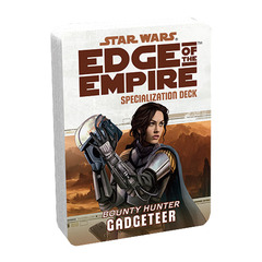 Star Wars: Edge of the Empire: Gadgeteer Specialization Deck