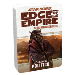 Star Wars: Edge of the Empire: Politico Specialization Deck