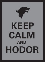 Keep Calm and Hodor - (Legion) Standard Sleeves - 50ct