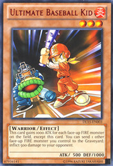 Ultimate Baseball Kid - Red - DL15-EN003 - Rare - Unlimited Edition
