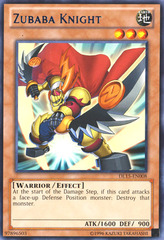 Zubaba Knight - Blue - DL15-EN008 - Rare - Unlimited Edition