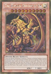 The Winged Dragon of Ra - PGLD-EN031 - Gold Secret Rare - 1st Edition  ****