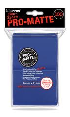 100ct Pro-Matte Blue Standard Deck Protectors