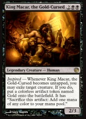 King Macar, the Gold-Cursed - Foil