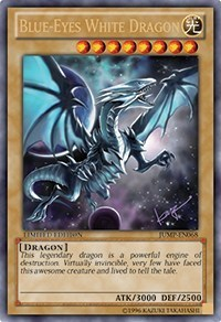 Blue-Eyes White Dragon - JUMP-EN068 - Ultra Rare - Promo Edition