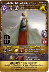 Mage Wars: Joseph Trublood High Cleric Promo Card