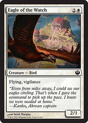 Eagle of the Watch - Foil on Channel Fireball