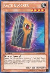 Gate Blocker - DRLG-EN034 - Secret Rare - 1st Edition