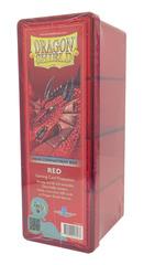 Dragon Shield Four-Compartment Storage Box - Red
