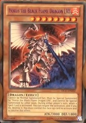 Horus the Black Flame Dragon LV8 - Green - DL17-EN002 - Rare - Unlimited Edition