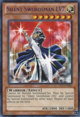 Silent Swordsman LV7 - Blue - DL17-EN003 - Rare - Unlimited Edition on Channel Fireball