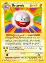 Electrode - 21/102 - Rare - Shadowless Edition