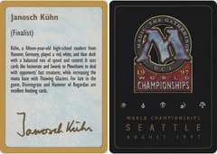 Biography - Janosch Kuhn - 1997