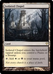 Isolated Chapel on Channel Fireball