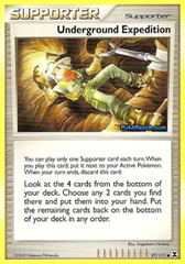 Underground Expedition - 97 - Promotional - Crosshatch Holo Pokemon League Darach Season 2010