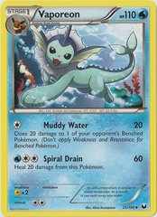 Vaporeon - 25/108 - Promotional - Crosshatch Holo European Spring Regional Championships Staff 2012 Promo