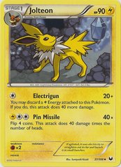 Jolteon - 37/108 - Promotional - Crosshatch Holo Autumn Regional Championships 2012 Promo