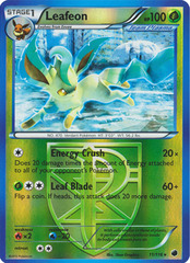 Leafeon - 11/116 - Promotional - Crosshatch Holo European Spring Regional Championships Staff 2013 Promo