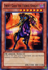 Swift Gaia the Fierce Knight - LCYW-EN031 - Common - Unlimited Edition