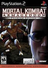 Mortal Kombat: Armageddon - Premium Edition - Cage/Goro Cover