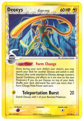 Deoxys (Speed) - 6/110 - Holo Rare