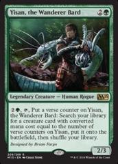 Yisan, the Wanderer Bard - Foil