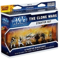 Star Wars Mini Clone Wars Starter Set