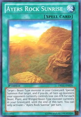Ayers Rock Sunrise - DRLG-EN020 - Super Rare - Unlimited Edition