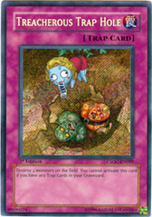 Treacherous Trap Hole - CSOC-EN089 - Secret Rare - 1st Edition