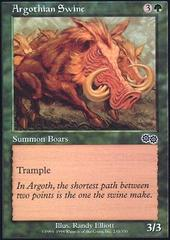 Argothian Swine on Channel Fireball