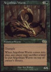 Argothian Wurm on Channel Fireball