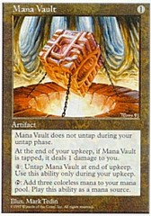 Mana Vault on Channel Fireball