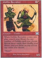 Goblin Recruiter on Channel Fireball
