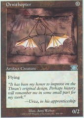 Ornithopter on Channel Fireball