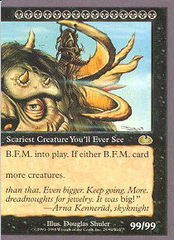 B.F.M. (Big Furry Monster) (Right side) on Channel Fireball