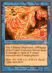 The Ultimate Nightmare of Wizards of the Coast Customer Service