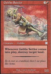 Goblin Settler on Channel Fireball
