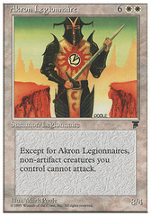 Akron Legionnaire on Channel Fireball