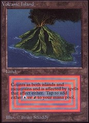 Volcanic Island (Not Tournament Legal) on Channel Fireball